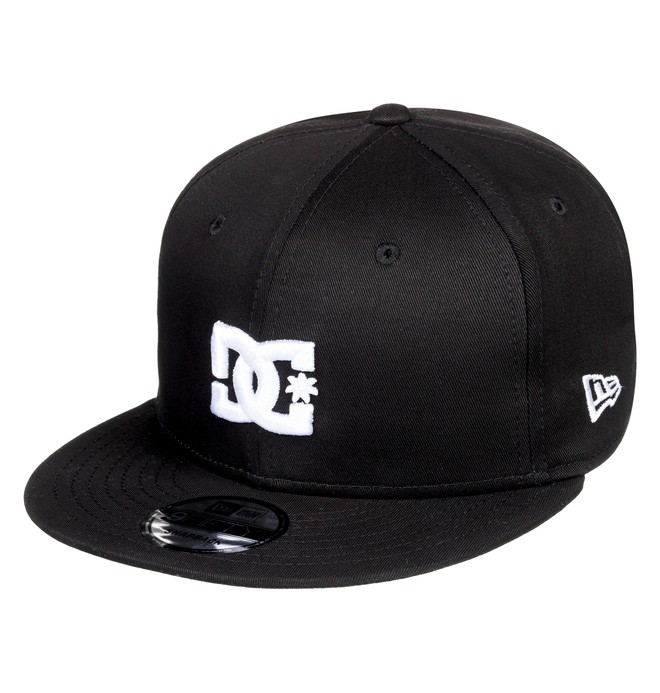 0 Empire Fielder Snapback Hat Black ADYHA03749 DC Shoes