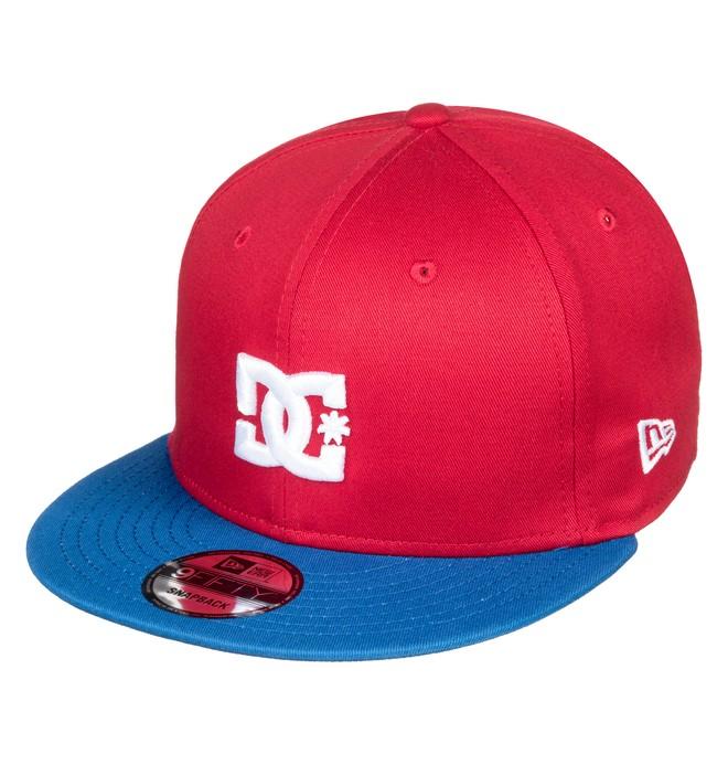 0 Empire Fielder Snapback Hat Red ADYHA03749 DC Shoes