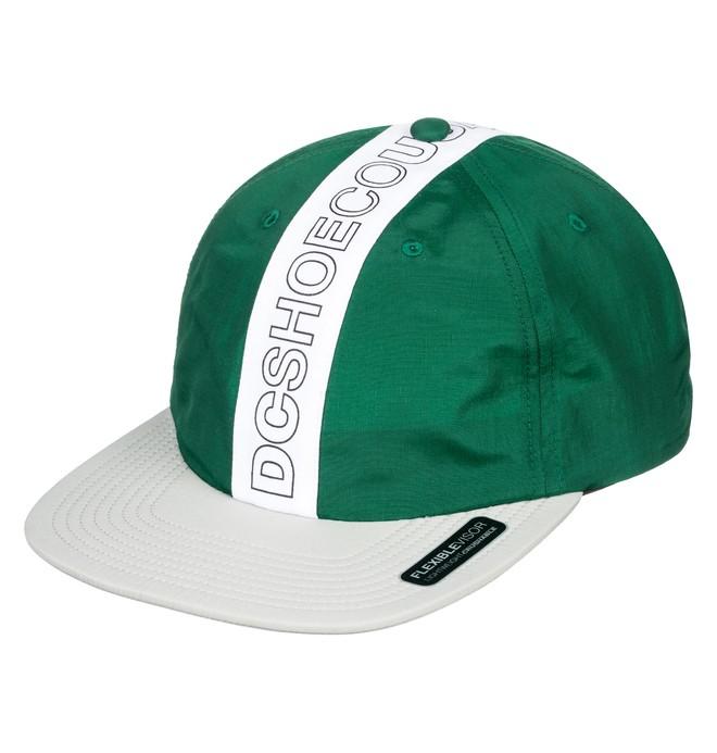 0 Baffles Toggle Closure Hat Green ADYHA03752 DC Shoes