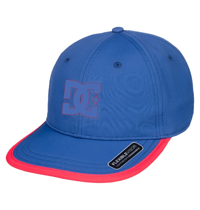 0 Crankers Snapback Hat Blue ADYHA03758 DC Shoes