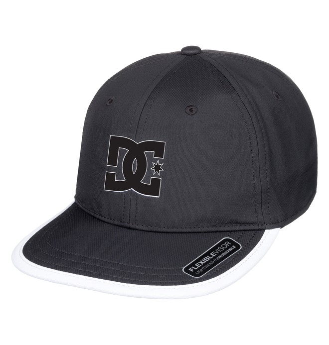 0 Crankers Snapback Hat Black ADYHA03758 DC Shoes
