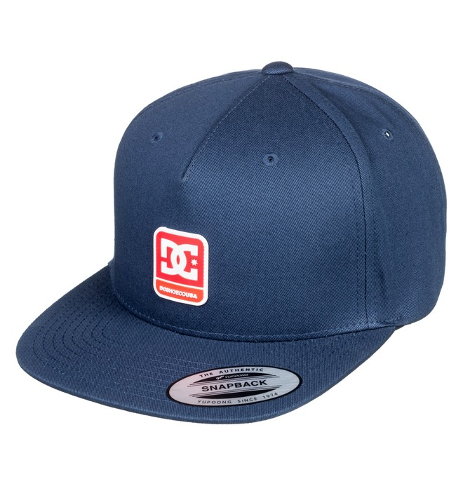 0 Snapdragger Snapback Hat Blue ADYHA03759 DC Shoes