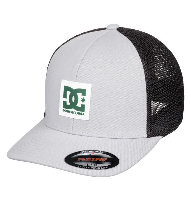 0 Mesher Flexfit® Trucker Hat Grey ADYHA03761 DC Shoes