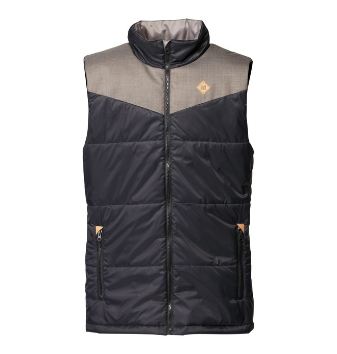 0 Men's Bear Vest  ADYJK00016 DC Shoes
