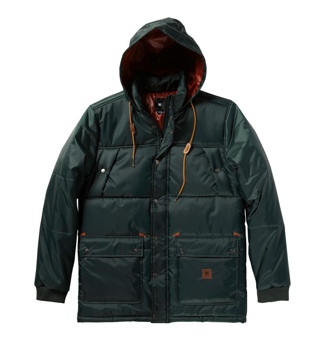 0 Men's Rainer Jackets  ADYJK00031 DC Shoes