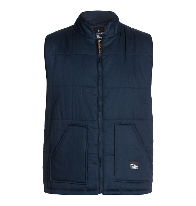 0 Men's Wes Puffs Vest  ADYJK03004 DC Shoes