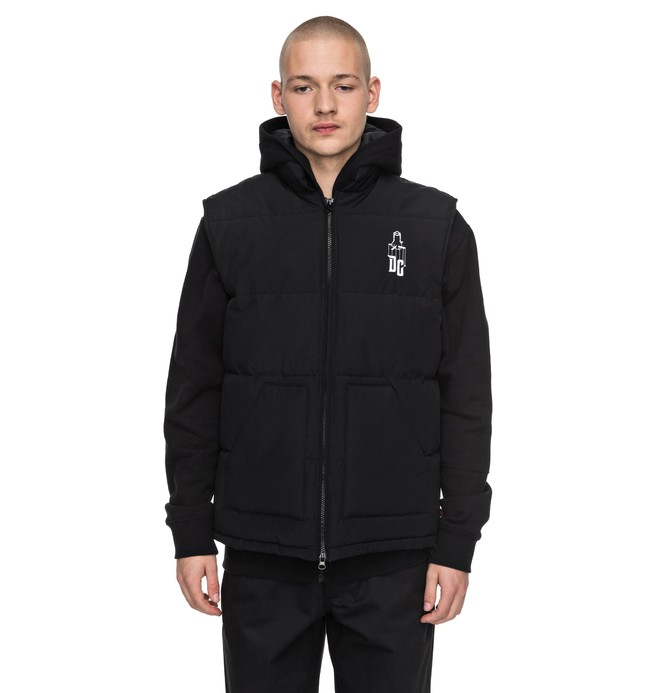 0 Men's Sk8MafIa Padded Gillet  ADYJK03042 DC Shoes