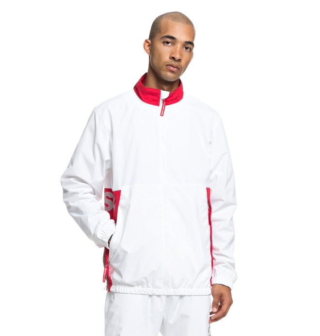 0 Men's Skate Water Resistant Zip-Up Tracksuit Top  ADYJK03051 DC Shoes