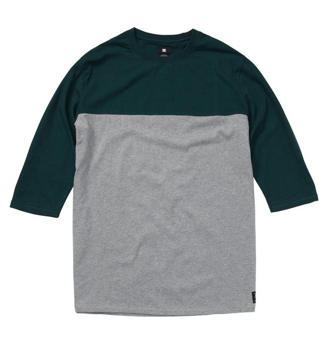 0 Men's Hellban 3/4 Sleeve Shirt  ADYKT00043 DC Shoes