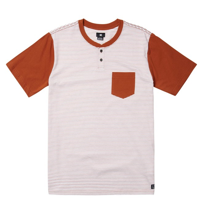 0 Men's Pioneers Henley Tee  ADYKT00153 DC Shoes