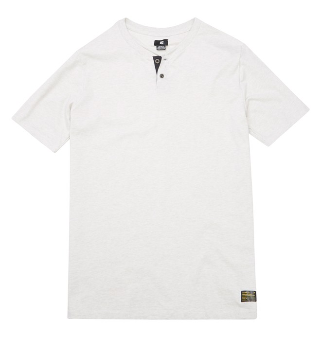 0 Men's Wayback Henley Tee  ADYKT00192 DC Shoes