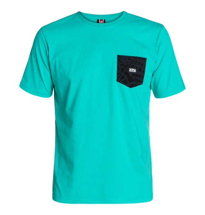 0 Rd Palm Pocket Tee  ADYKT03011 DC Shoes