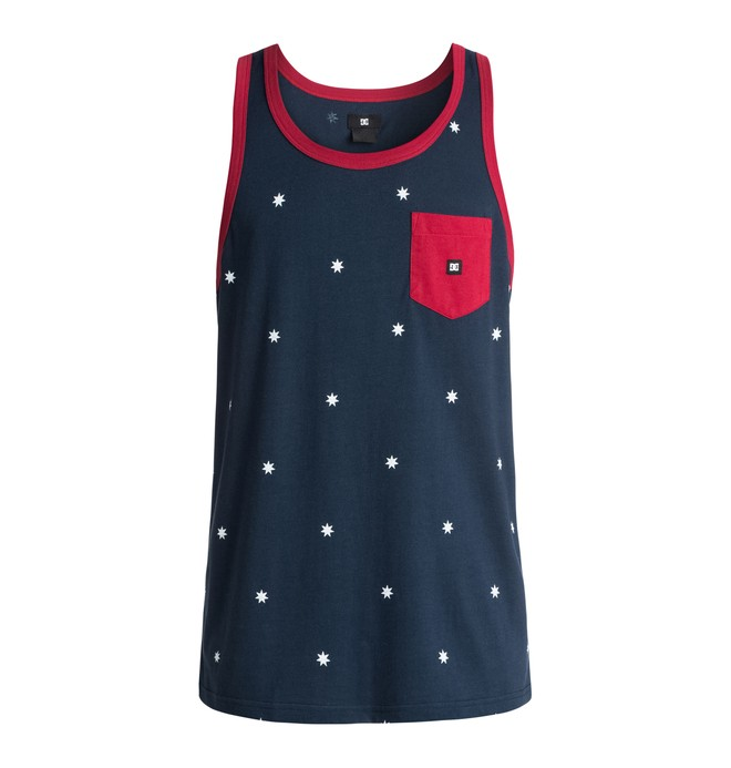 0 Men's Contra Americana Tank  ADYKT03076 DC Shoes