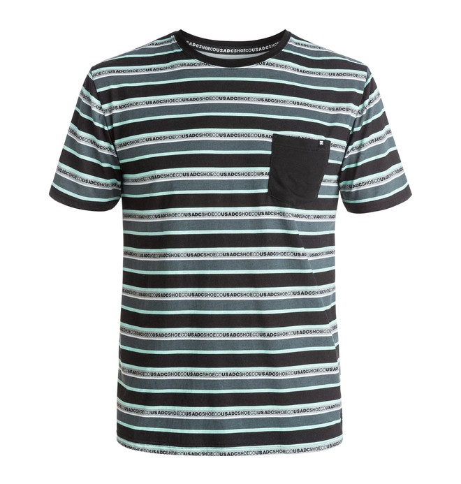 0 Men's DCSC Stripe Pocket Tee  ADYKT03084 DC Shoes