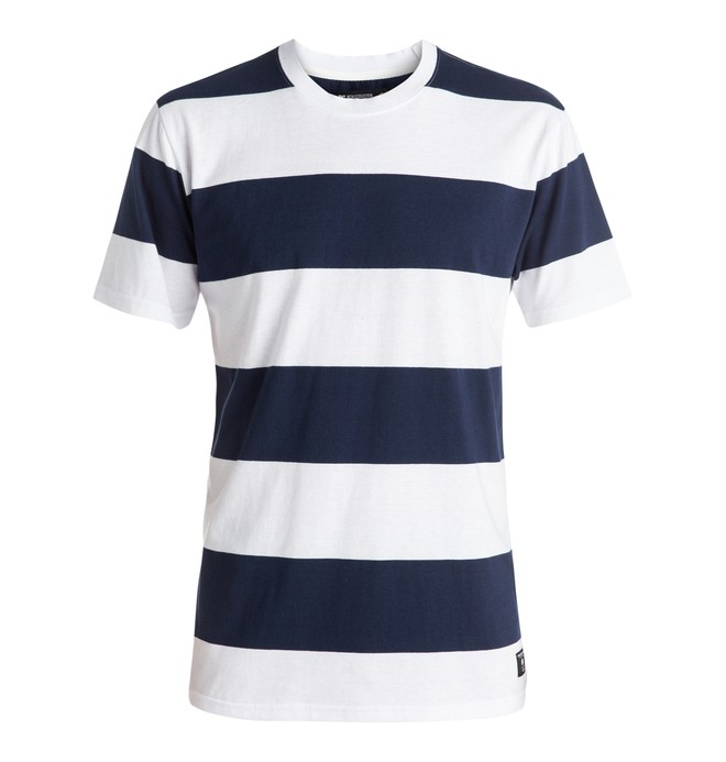 0 Madars Stripe - Tee-Shirt  ADYKT03102 DC Shoes