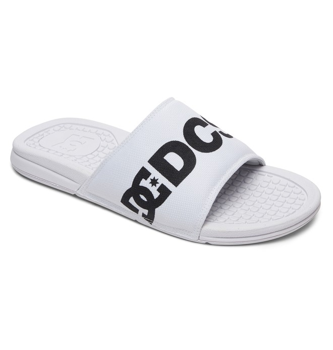 0 Men's Bolsa SP Slider Sandals White ADYL100032 DC Shoes