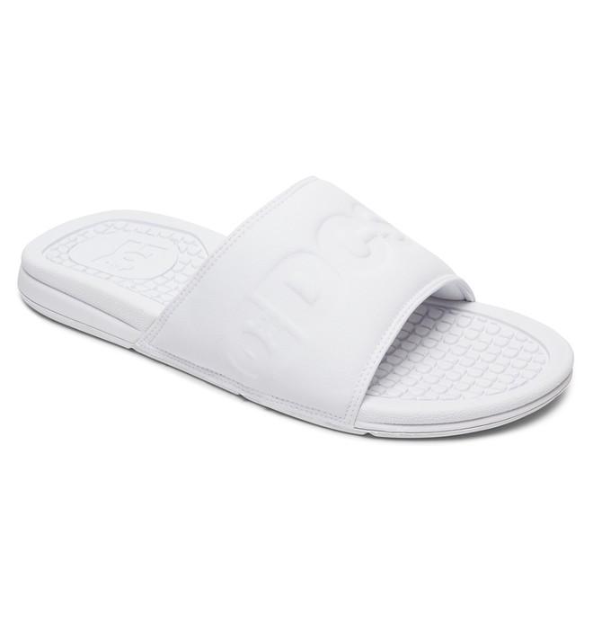 0 Bolsa SE - Slider Sandals White ADYL100042 DC Shoes