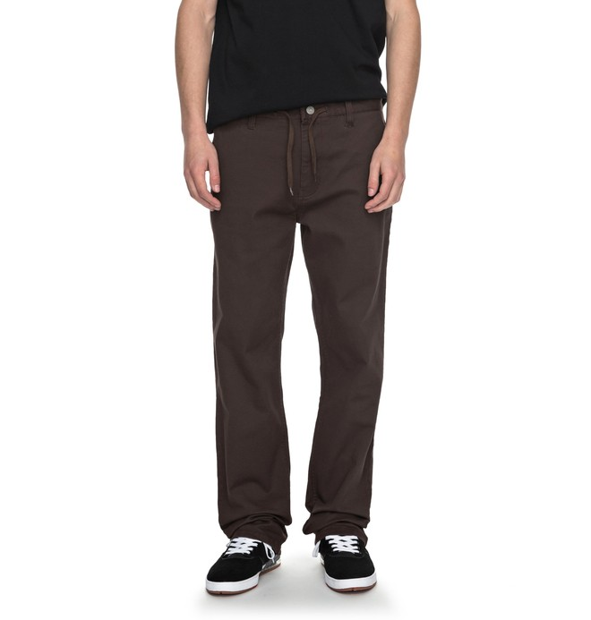 0 Wes Kremer Twill Straight - Loose Fit Pant for Men  ADYNP03032 DC Shoes