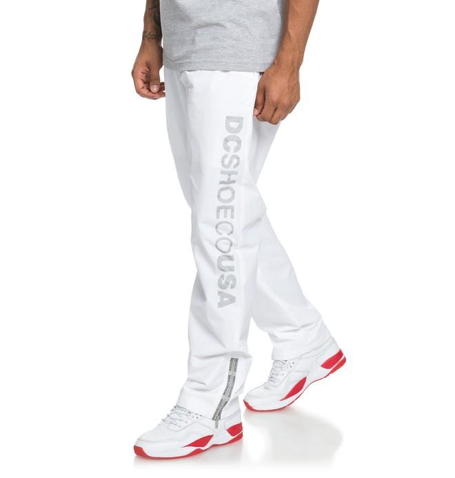 0 Skate - Wasserabweisende Jogginghose für Männer Weiss ADYNP03040 DC Shoes