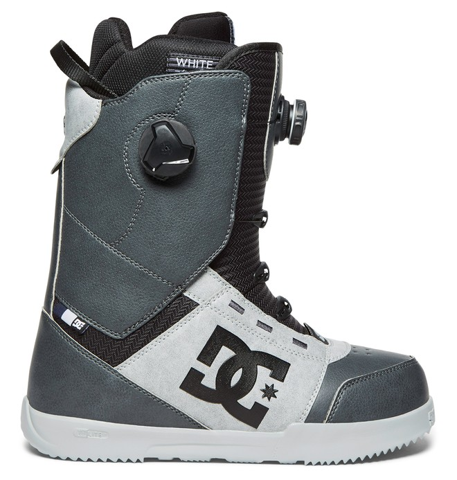 0 Men's Control BOA Snowboard Boots Grey ADYO100024 DC Shoes