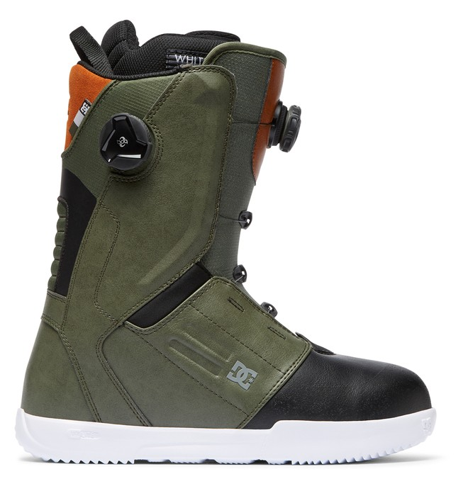 0 Control BOA Snowboard Boots Green ADYO100030 DC Shoes