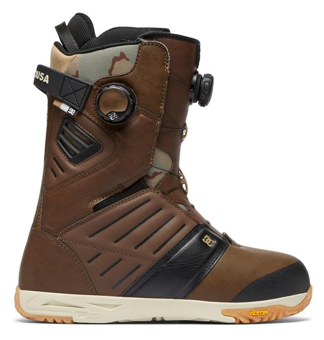 0 Judge - Boots de snow BOA pour Homme Marron ADYO100031 DC Shoes