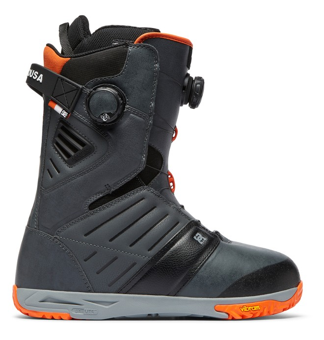 0 Judge BOA Snowboard Boots Grey ADYO100031 DC Shoes