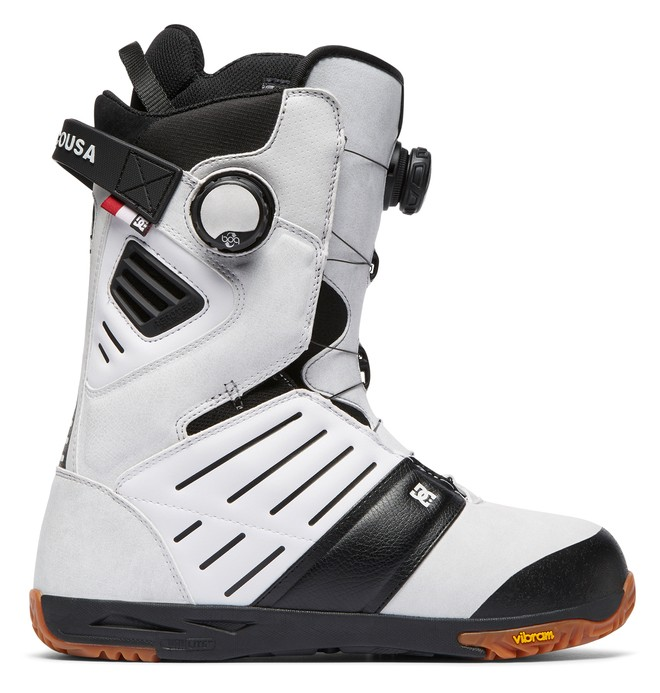0 Judge BOA Snowboard Boots White ADYO100031 DC Shoes