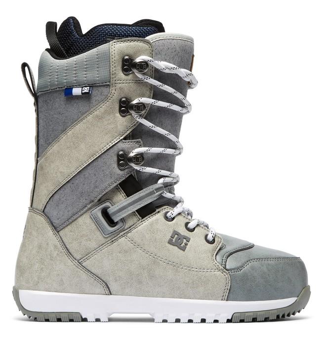 0 Mutiny Lace-Up Snowboard Boots White ADYO200037 DC Shoes