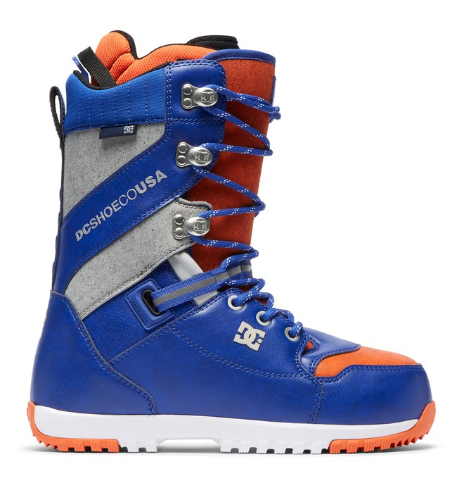 0 Mutiny Lace-Up Snowboard Boots Grey ADYO200037 DC Shoes