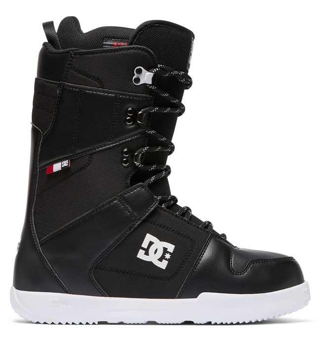 0 Men's Phase Lace-Up Snowboard Boots Black ADYO200038 DC Shoes