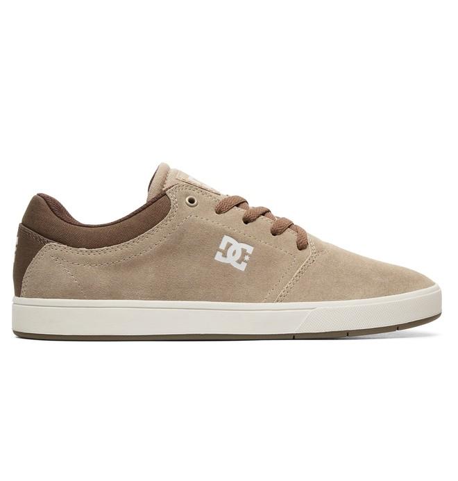 0 Men's Crisis Shoes Brown ADYS100029 DC Shoes