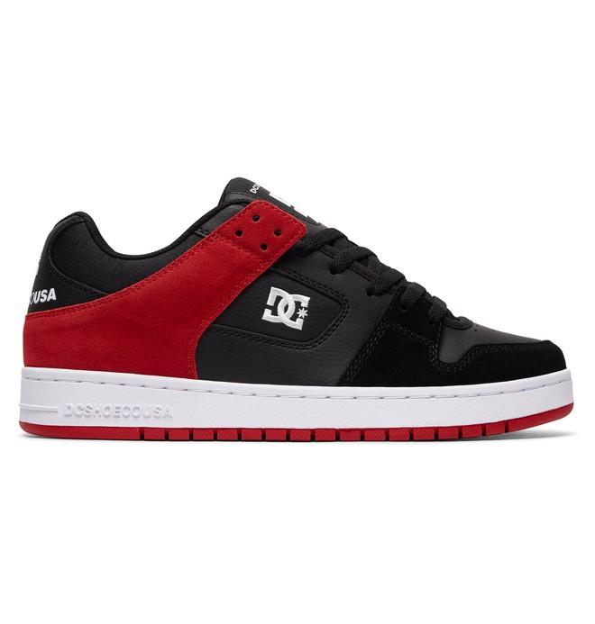 0 Men's Manteca Shoes Black ADYS100177 DC Shoes