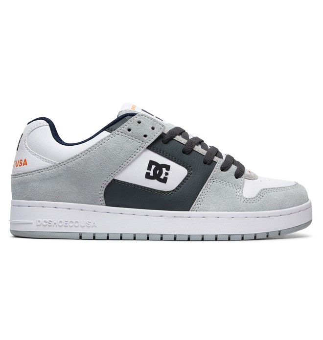0 Men's Manteca Shoes Grey ADYS100177 DC Shoes
