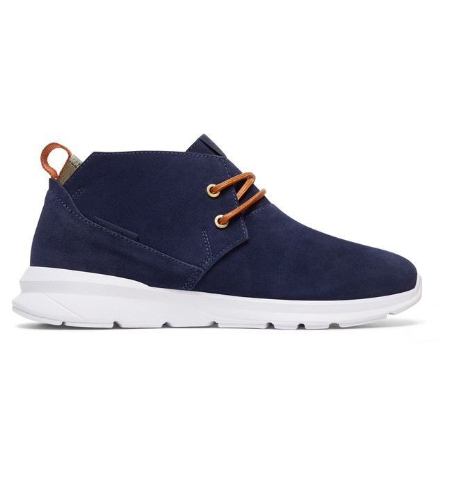 0 Ashlar - Zapatillas De Media Bota Azul ADYS100316 DC Shoes