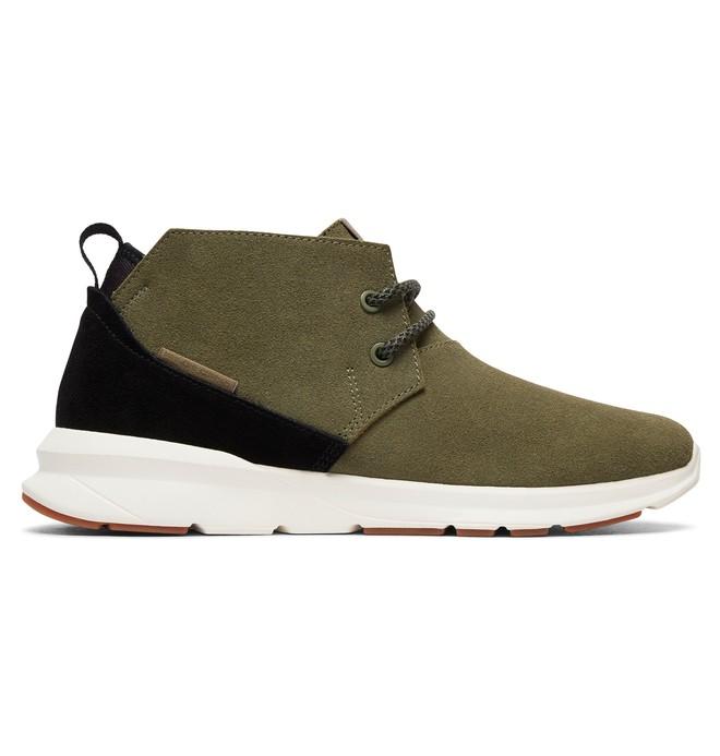 0 Ashlar - Chaussures mi-Hautes pour Homme Noir ADYS100316 DC Shoes