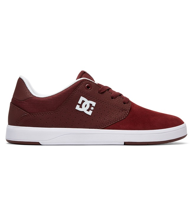 0 Plaza S Skate Shoes Red ADYS100319 DC Shoes