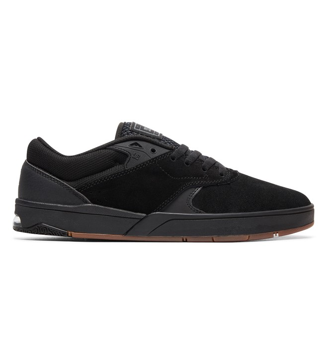 0 Tiago S Skate Shoes Black ADYS100386 DC Shoes
