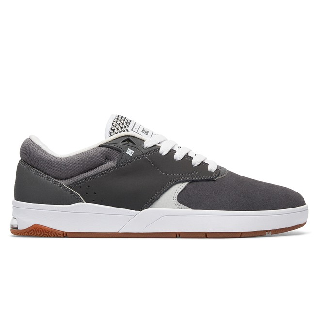 0 Tiago S - Skate Shoes for Men Grey ADYS100386 DC Shoes