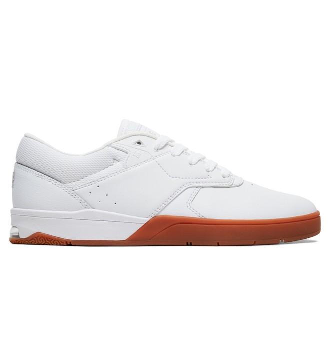 0 Tiago S Skate Shoes White ADYS100386 DC Shoes