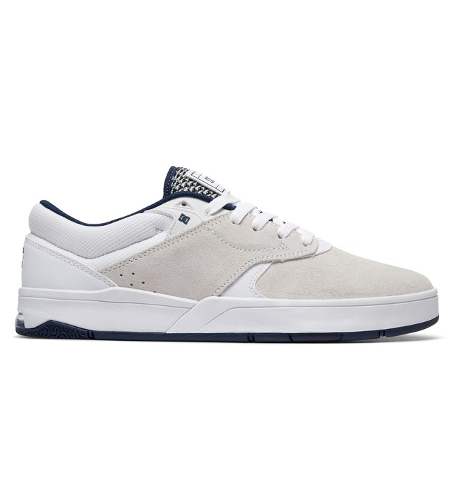 0 Men's Tiago S Skate Shoes White ADYS100386 DC Shoes