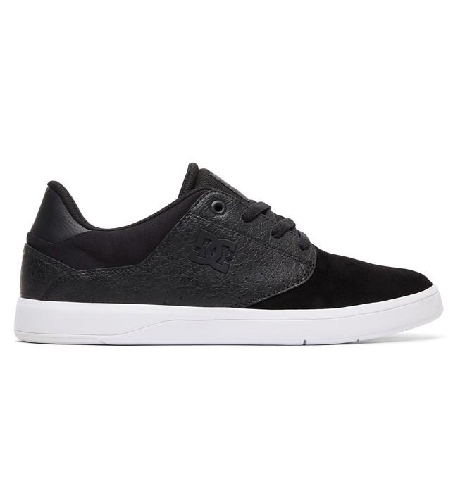 0 Plaza Shoes Black ADYS100401 DC Shoes