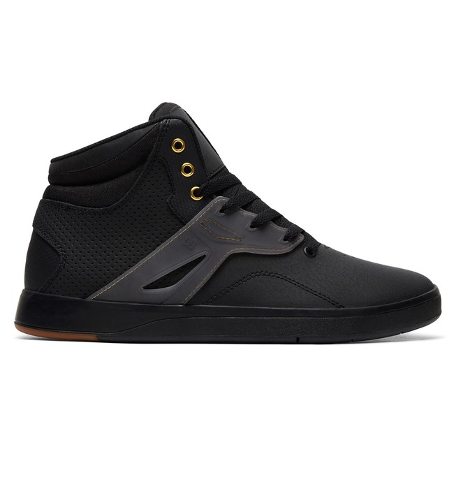 0 Frequency High-Top Shoes Black ADYS100410 DC Shoes