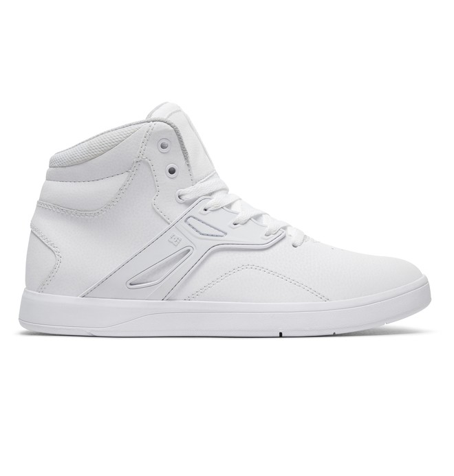 0 Frequency High - Hoge Schoenen White ADYS100410 DC Shoes