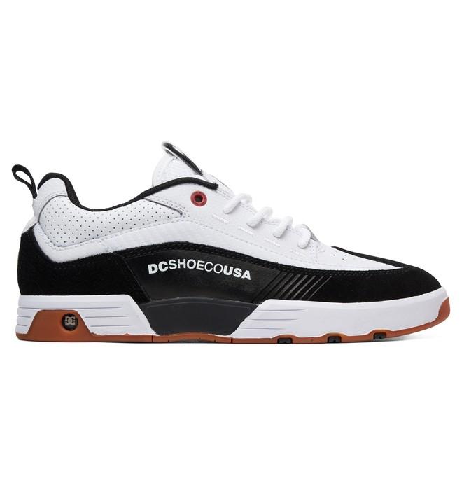0 Legacy 98 Slim S Skate Shoes White ADYS100435 DC Shoes