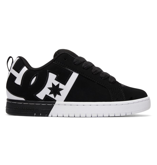 0 Court Graffik SQ - Chaussures Noir ADYS100442 DC Shoes