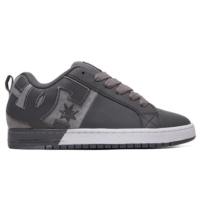 0 Court Graffik Shoes Grey ADYS100442 DC Shoes