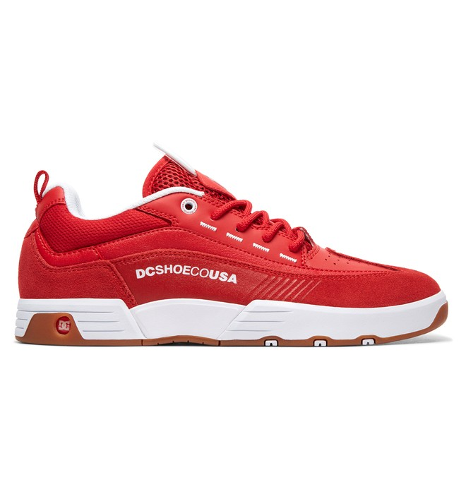 0 Legacy 98 Slim - Shoes for Men Red ADYS100445 DC Shoes