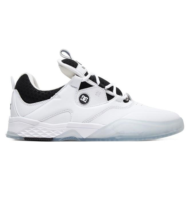 0 Kalis S Manolo Skate Shoes White ADYS100483 DC Shoes