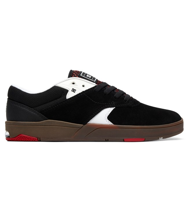 0 Tiago S Skate Shoes Black ADYS200068 DC Shoes